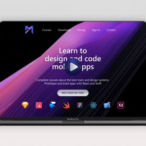 UI Design - Learn courses website